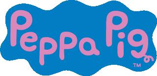 Peppa Gris navnelapper