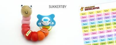 Minilapper Sukkertøy