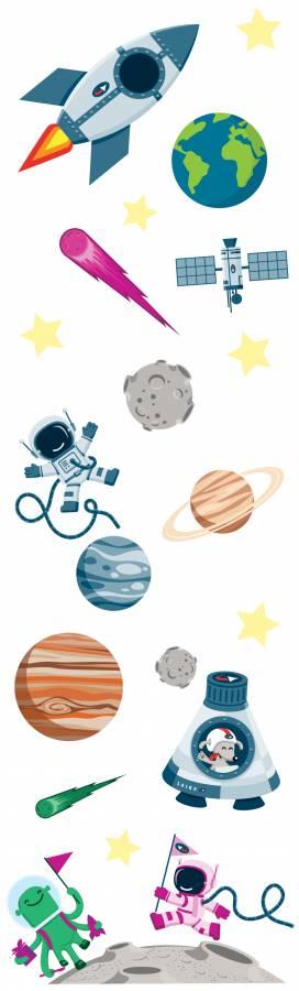 Veggdekor: Universet