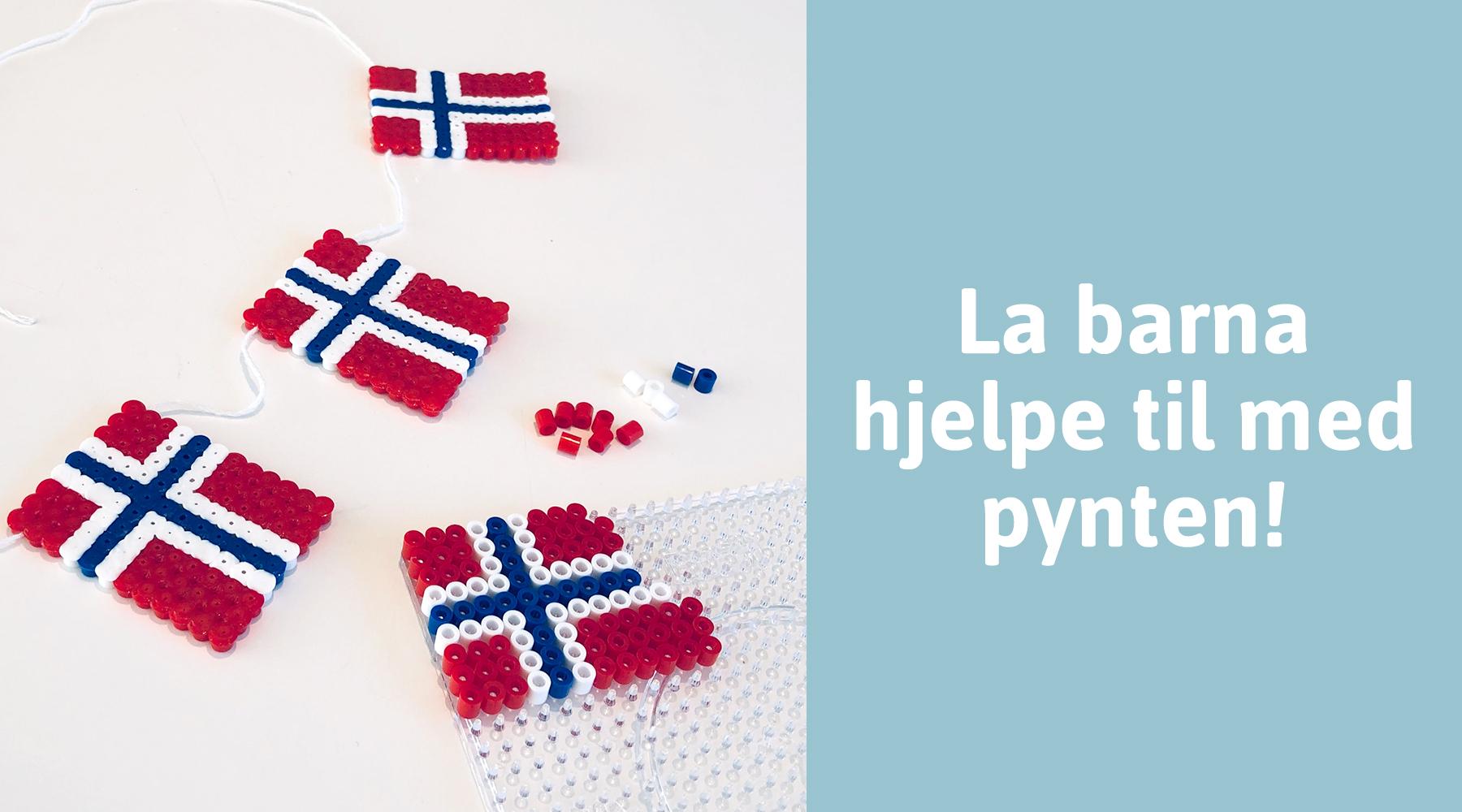 Perle flagg til 17. mai