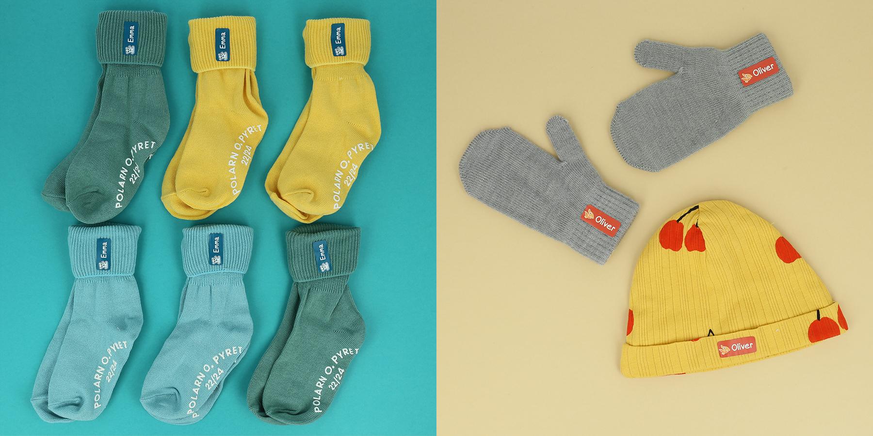 Strykelapper til sokker og hjemmestrikk