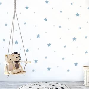 Veggdekor: Stjerner