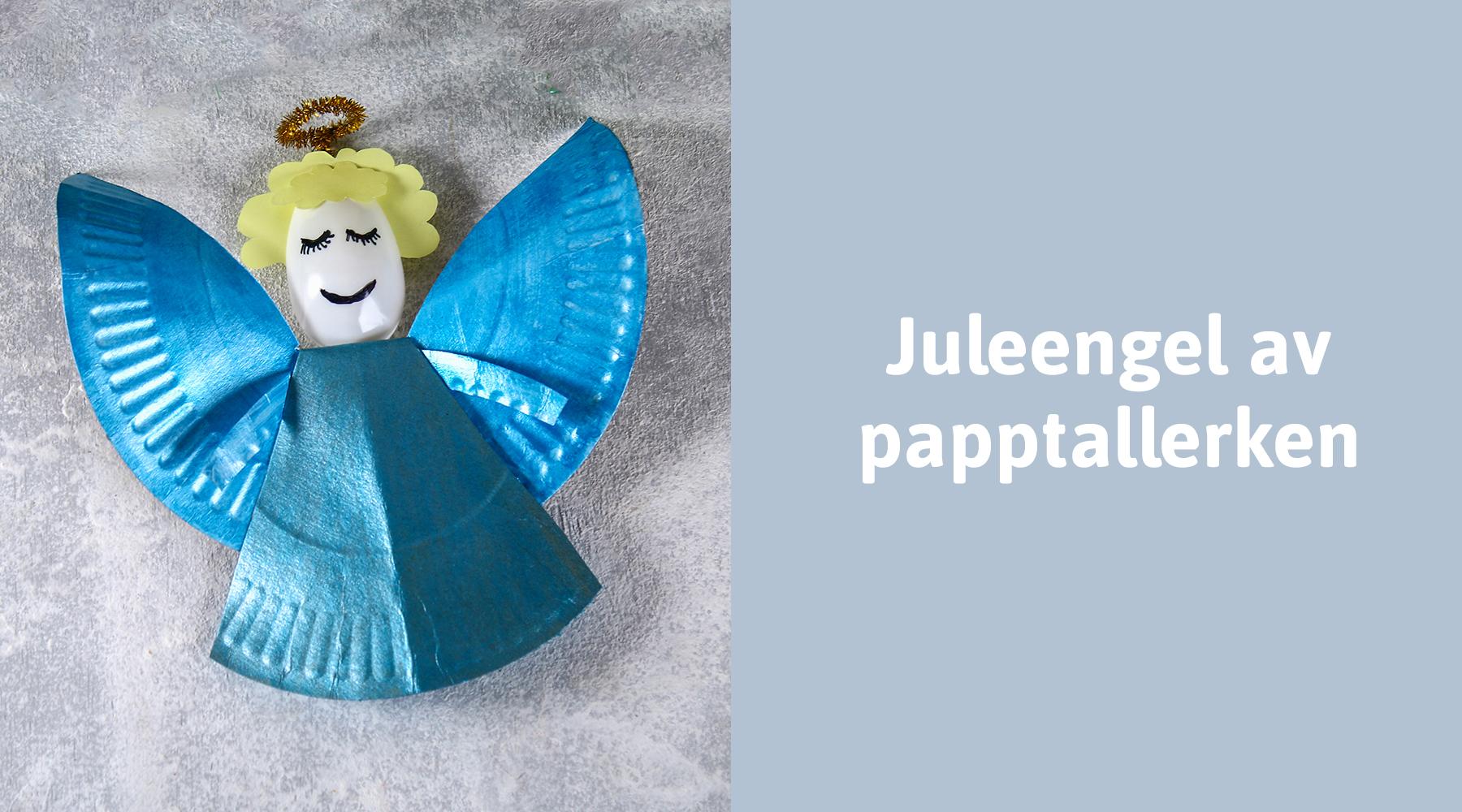 Lag en engel til årets juleverksted