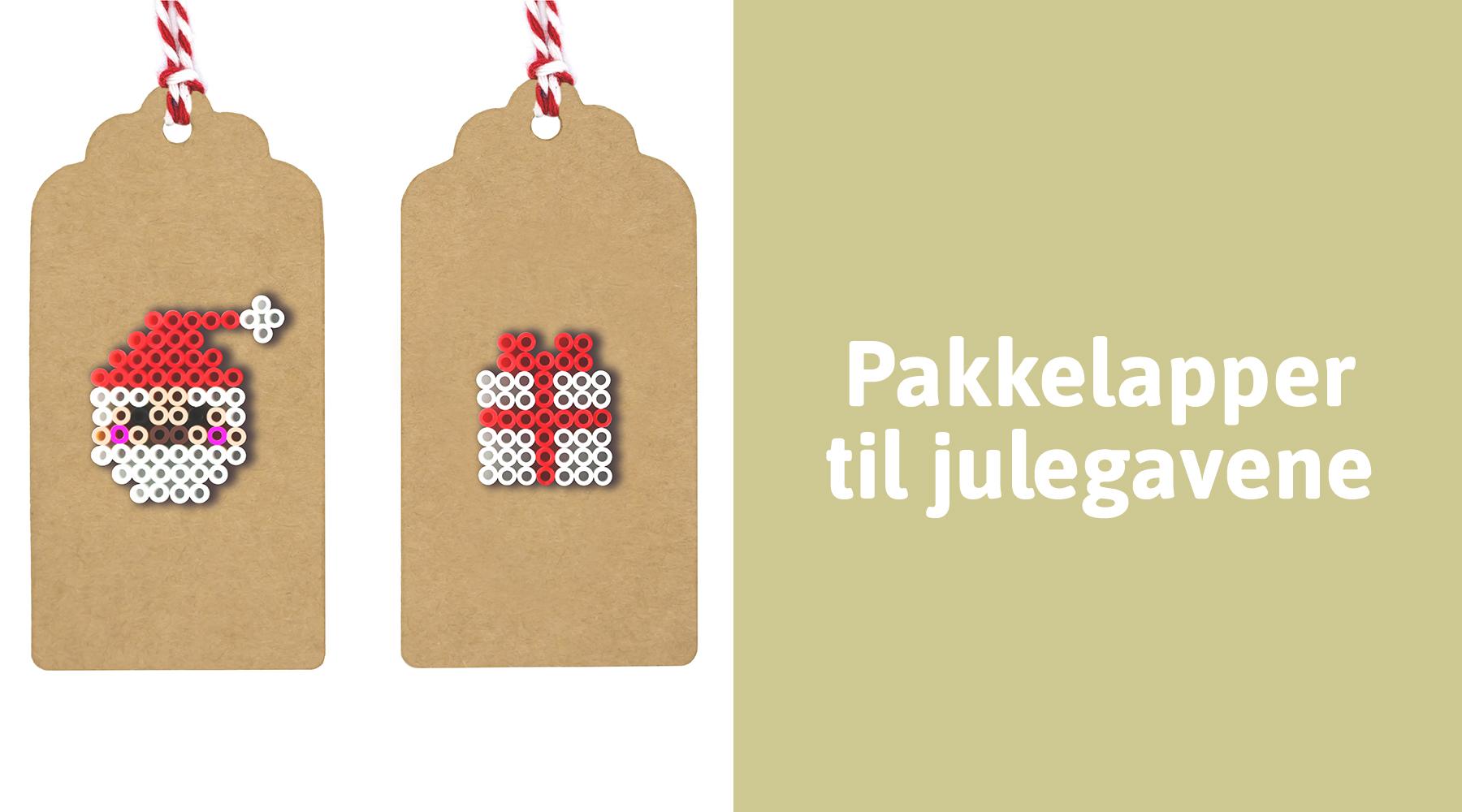 Personlige pakkelapper til julegavene
