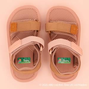 Peppa Gris navnelapper til sko