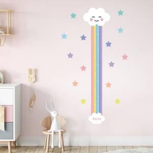 Høydemåler til barnerommet - regnbue